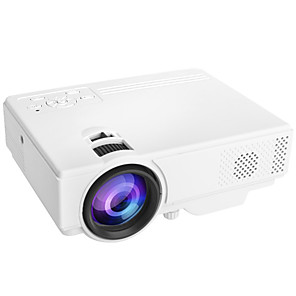 cheap Projectors-YF03 USB HDMI AV SD Mini Portable HD LED LCD Projector Beamer Home Media Movie Player Support 1080P AV USB SD Card 320 x 240 HDMI / USB / AV / CVBS for Home School Office