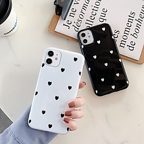 cheap iPhone Cases-Case For Apple iPhone 11 / iPhone 11 Pro / iPhone 11 Pro Max Shockproof / IMD Back Cover Heart TPU
