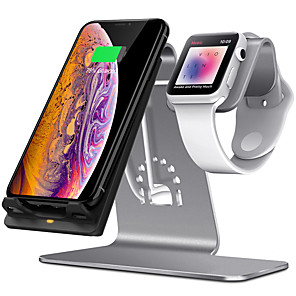 cheap Wireless Chargers-10 W Wireless Charger USB Charger USB Wireless Charger 1 USB Port 2 A DC 9V / DC 5V for iPhone XS / iPhone XR / iPhone XS Max