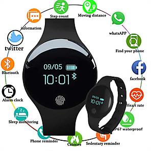 cheap Smartwatches-Smartwatch Digital Luxury Water Resistant / Waterproof Silicone Digital - Black Blue Pink / Calendar / date / day