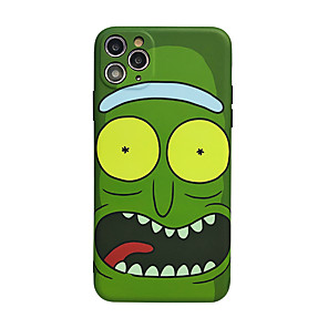 cheap iPhone Cases-Case For Apple iPhone 11 / iPhone 11 Pro / iPhone 11 Pro Max Shockproof / Ultra-thin Back Cover / Rick and Morty PC