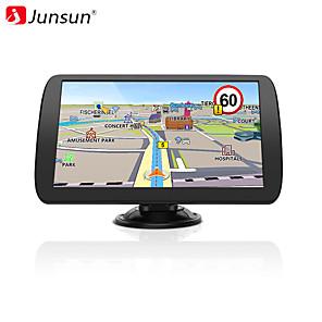 cheap Bluetooth Car Kit/Hands-free-Junsun A9.PT 9 inch HD Car GPS Navigation FM Navitel 2019 latest Europe Map Sat nav Truck gps navigators automobile