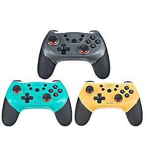 cheap Video Game Accessories-2020 For N-Switch Pro NS-Switch Pro NS Control Professional Wireless Bluetooth Gamepad Game Controller With 6-Axis Handle