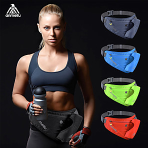 cheap Running Bags-Belt Pouch / Belt Bag Running Pack for Running Marathon Camping / Hiking Traveling Sports Bag Close Body Nylon Running Bag
