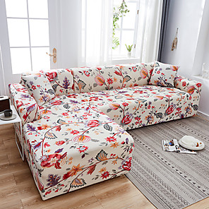 cheap Solid Duvet Covers-Universal 1/2/3/4 seater universal sofa cover stretch seater covers Couch cover Loveseat sofa Funiture home Christmas decoration