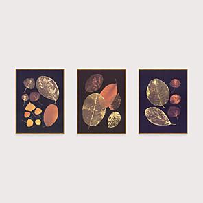 cheap Framed Arts-Framed Art Print Framed Set - Abstract Botanical PS Illustration Wall Art