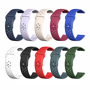cheap Smartwatch Bands-Watch Band for Samsung Galaxy Watch Active / Samsung Galaxy Watch Active 2 Samsung Galaxy Sport Band Silicone Wrist Strap