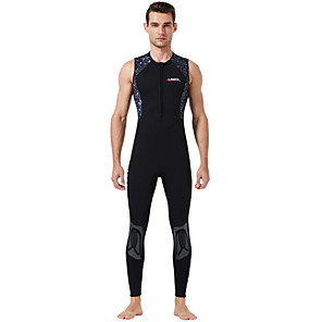 cheap Wetsuits, Diving Suits & Rash Guard Shirts-Dive&Sail Men's Sleeveless Wetsuit 1mm Neoprene Diving Suit Breathable Quick Dry Anatomic Design Sleeveless Swimming Diving Classic Spring Summer / Stretchy