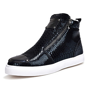 cheap Men's Sneakers-Men's Comfort Shoes Spring / Fall Outdoor Sneakers Mesh Wear Proof Black / Gold / Silver