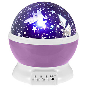 cheap 3D Night Lights-LED Rotating Night Light Tiktok Star Light Projector Nebula Projector Starry Sky Star Master Children Kids Sleep Romantic LED USB Projector Lamp Gifts