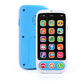cheap Electronic Learning Toys-HS-686-9 Toy Phone Educational Toy Learning Pad Y-phone Touch Screen Rechargeable Cool Simulation Parent-Child Interaction Music & Light with Screen Kid's Child's All 1 pcs Toy Gift