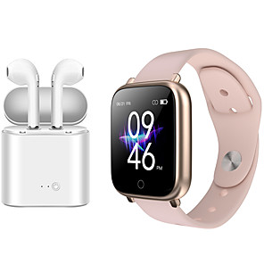 cheap Smartwatches-Indear M9  Women Smart Bracelet Smartwatch Android iOS Bluetooth Waterproof with TWS Bluetooth Wireless Headphones Music Headphones
