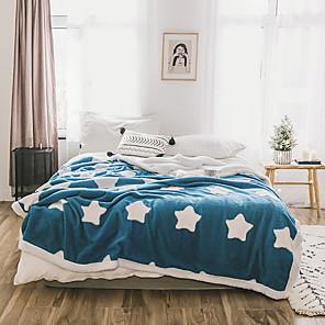 cheap Mosquito Nets-Fleece Throw Blanket Reversible Ultra Luxurious Plush Blanket Fuzzy Soft Blanket Microfiber