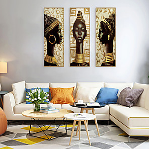 cheap Framed Arts-Framed Art Print Framed Set - People Religious PS Oil Painting Wall Art