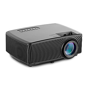 cheap Projectors-LITB200 USB HDMI AV SD Mini Portable HD LED LCD Projector Beamer Home Media Movie Player Support 1080P AV USB SD Card 800 x 480 VGA / HDMI / USB / AV / CVBS for Home School Office