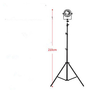 cheap Backgrounds-Anchor Live Photo Shooting Video Fill Light Tripod Landing Models Shaking Sound Fast Mobile Phone Live Beauty Bracket Light 210CM