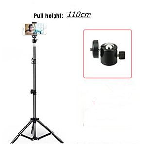 cheap Backgrounds-Photography Studio Mobile Phone Live Bracket Fill Light Microphone Bracket Floor Tripod Light Stand Photography Light Stand