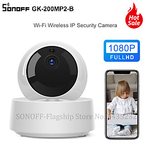 cheap Indoor IP Network Cameras-Itead SONOFF GK-200MP2-B 1080P HD MINI Wifi Smart Camera Smart Home Security Camera 360 Wirelsess IP Camera Via e-WeLink Control