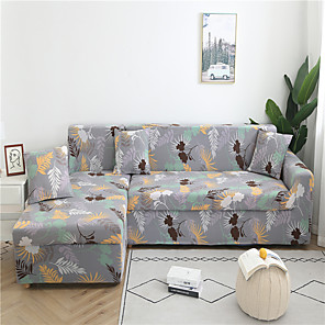 cheap Abstract Paintings-Sofa Cover Romantic Yarn Dyed Polyester / Cotton Blend Slipcovers