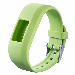 cheap Smartwatch Bands-Watch Band for Vivofit 3 / Garmin vívofit jr / Garmin Vivofit JR2 Garmin Sport Band Silicone Wrist Strap