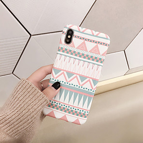 cheap iPhone Cases-Case For Apple iPhone 11 / iPhone 11 Pro / iPhone 11 Pro Max Shockproof Back Cover Geometric Pattern TPU
