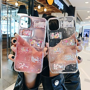 cheap iPhone Cases-Cute Sweet Candy Case For Apple iPhone 11 / iPhone 11 Pro / iPhone 11 Pro Max Shockproof / Ultra-thin / Transparent Back Cover Word / Transparent TPU