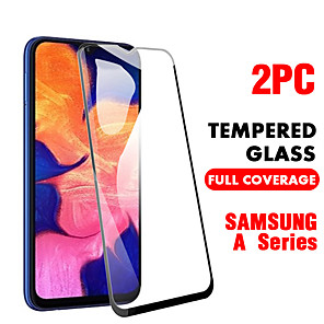 cheap Samsung Screen Protectors-SAMSUNGScreen ProtectorSamsung Galaxy A20(2019) High Definition (HD) Front Screen Protector 2 pcs Tempered Glass