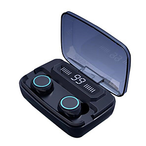 cheap TWS True Wireless Headphones-Bluetooth Earphone M11 Wireless In-Ear TWS 5.0 LED Display Stereo Headset Noise Cancelling Charging Box For Mobile Phone