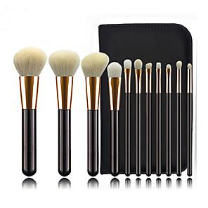 cheap Makeup Brush Sets-Professional Makeup Brushes 11pcs Professional Cute Full Coverage Adorable Comfy Artificial Fibre Brush Wooden / Bamboo for Eyeliner Brush Blush Brush Foundation Brush Makeup Brush Eyeshadow Brush