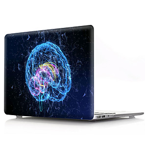 cheap Mac Accessories-Hard Cover Shell for MacBook Case Pro Air Retina 11/12/13/15 (2019/2018/2017/2016) PVC Creative brain