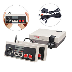 cheap Video Game Accessories-Mini Classic Game Consoles Mini Retro Game Consoles Built-in 620 Games Video Games Handheld Game Player (AV Out Cable 8-Bit) Family Happy Gift for Children kid