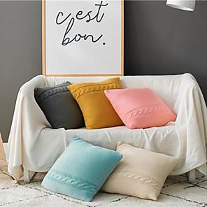 cheap Throw Pillow Covers-Set of 1 Throw Pillow Casual Modern 45*45 cm