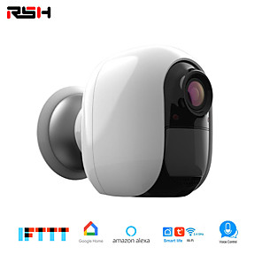 cheap Outdoor IP Network Cameras-RSH Wifi 1080P Indoor Wireless Ip Security Monitoring System For Home / Baby / Pet Monitor With Night Vision Two-way Audio