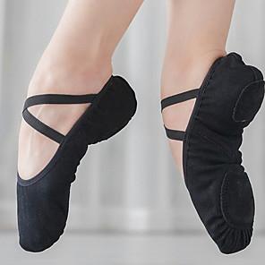 cheap Microphones & Accessories-Women's Dance Shoes Ballet Shoes Flat Flat Heel Camel / Black / Pink