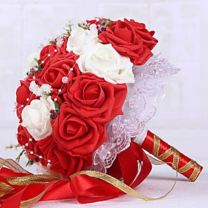 cheap Wedding Flowers-European Wedding Supplies Bouquets Wedding Bride Bouquets Wedding Flower Ball Wedding Ffoam Wedding Bouquets 1 Stick