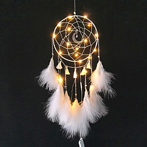 cheap LED String Lights-Dreamcatcher - Special Material Bohemia 1 pcs Wall Decorations