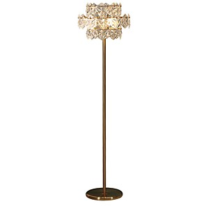 cheap Wall Murals-Floor Lamp Decorative Modern Contemporary For Bedroom 220V Gold