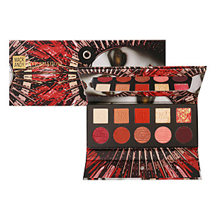 cheap Eyeshadows-10 Colors Eyeshadow Eyeshadow Palette Matte Cosmetic EyeShadow Face Easy to Carry Women Best Quality Pro Ultra Light (UL) Girlfriend Gift Safety Convenient Daily Makeup Halloween Makeup Party Makeup