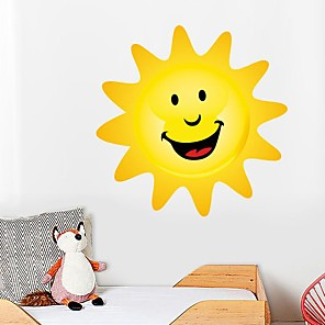 cheap Wall Stickers-Decorative Wall Stickers - Plane Wall Stickers Sun Nursery / Kids Room
