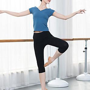 cheap Wedding Wraps-Activewear Pants Split Joint Women's Training Performance Modal