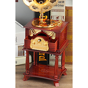 cheap Music Boxes-Music Box Wooden Music Box Antique Music Box Cute Singing Lovely Unique Plastic Shell Women's All Girls' Kid's Adults Child's 1 pcs Graduation Gifts Toy Gift