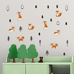 cheap Christmas Decorations-Decorative Wall Stickers - Plane Wall Stickers Animals Indoor / Kids Room