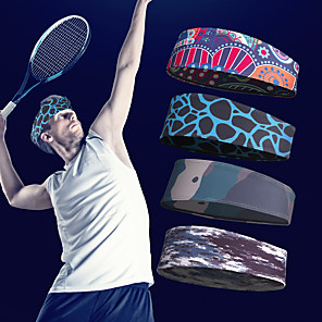 cheap Tennis-Men's Women's Tennis Headwear Headsweat Breathable Fast Dry High Elasticity Autumn / Fall Spring Summer Winter Leisure Sports Outdoor