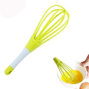 ราคาถูก เครื่องมือครัวแปลกใหม่-เครื่องตีไข่แบบพับเก็บได้คู่มือการใช้งานคู่เครื่องปั่นไข่นม frother ครีมสีหวานปัดตีผสมแป้ง