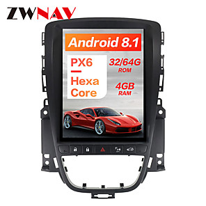 cheap Video Door Phone Systems-ZWNAV 10.4 inch 1 Din Android 8.1 Tesla style 4GB 64GB Car GPS Navigation Car radio tape recorder In-Dash Car DVD Player Car multimedia player For Buick Hideo 2009-2014