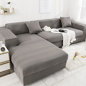 cheap Dog Clothes-Sofa Cover Stretch Cheap Slipcovers Soft Durable Couch Cover 1 Piece Spandex Jacquard Fabric Washable Furniture Protector Armchair Loveseat L-shape