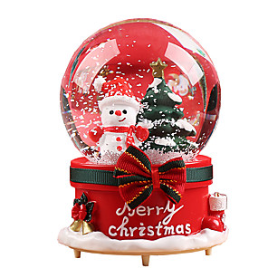 cheap Music Boxes-Music Box Holiday Retro Creative Unique Crystal Resin Glass Women's All Girls' Kid's Adults Child's Adults' 1 pcs Graduation Gifts Toy Gift