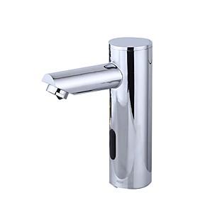 abordables Robinets de Lavabo-Robinet lavabo - Séparé Plaqué Set de centre Mitigeur un trouBath Taps