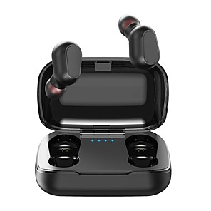 cheap Wired Earbuds-L21 TWS True Wireless Stereo Earbuds IPX5 Waterproof Sports Fitness Bluetooth 5.0 Earphones Smart Touch Control Auto Pairing