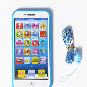 cheap Electronic Learning Toys-HS-945 Toy Phone Educational Toy Learning Pad Y-phone Touch Screen Rechargeable Cool Simulation Parent-Child Interaction Music & Light Music with Screen Kid's Child's All 1 pcs Toy Gift